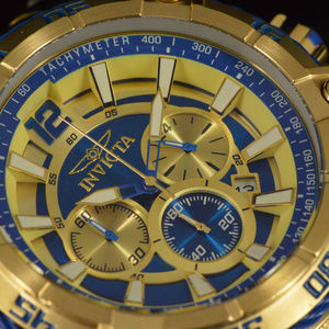 NEW Invicta Ocean Voyage Ltd Edition Gold Watch